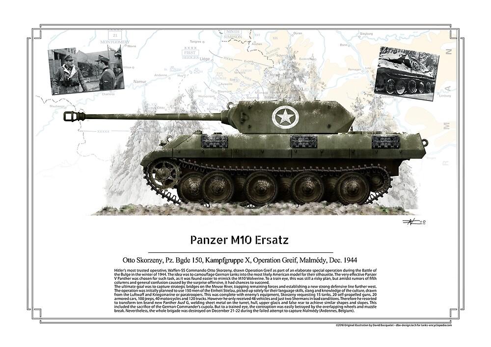 M10 Ersatz - Otto Skorzeny Kampfgruppe X