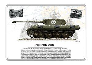 otto Skorzeny M10 Ersatz