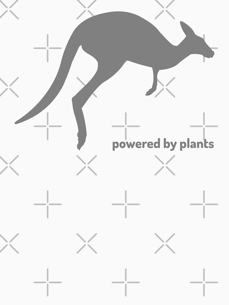 powered by plants - kangaroo by PlantVictorious