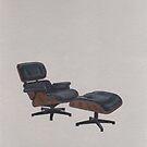 Eames Lounge Chair & Ottoman by chelsgus