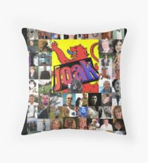 Bonny Lads an Lassies from my Watchlist Throw Pillow