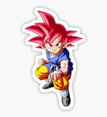 Super Saiyan Kid Goku Sticker