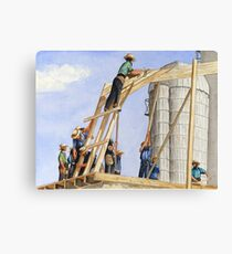 Helping Hands, Helping Hearts Canvas Print