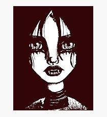 Vampire Confessions (Single Color Version) Photographic Print