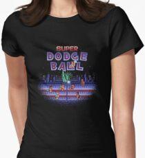 Super Ball Dodge Women's Fitted T-Shirt