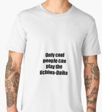 Uchiwa-Daiko Player Musician Funny Gift Idea Men's Premium T-Shirt