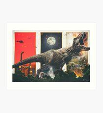 "Lámina artística ""Tenemos un T-Rex"" - Póster de la película Neemz"