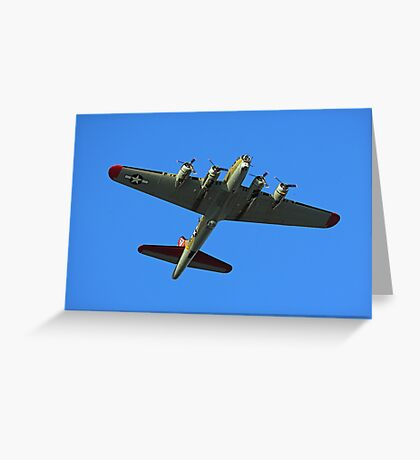 Boeing B17 Flying Fortress Greeting Card