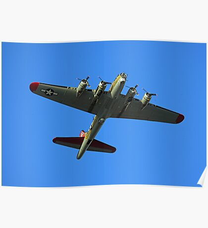 Boeing B17 Flying Fortress Poster
