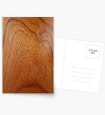 I Feel Woody, Oh So Woody!! (Wood Grain #1) - Man Cave Postcards