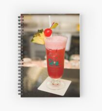 The famous Singapore Sling Spiral Notebook