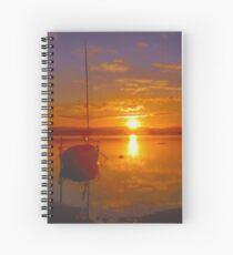 Sunset at Belmont Spiral Notebook