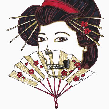 dead geisha by lilbat