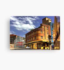 Hotel Hollywood - Surry Hills, Sydney, Australia Canvas Print