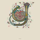 Celtic Initial Y by Thoth Adan