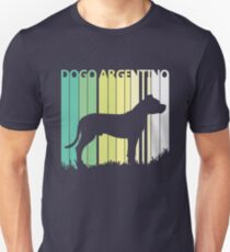 Cute Dogo Argentino Silhouette Unisex T-Shirt