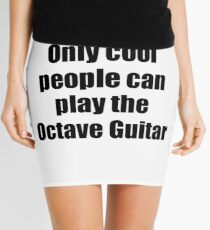 Octave Guitar Player Musician Funny Gift Idea Mini Skirt