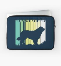 Cute Newfoundland Silhouette Laptop Sleeve