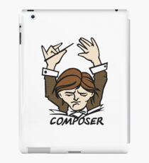 composer iPad Case/Skin