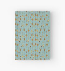 Abstract floral pattern Hardcover Journal