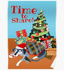 Time to share Póster
