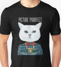 Picture Purrfect Cat Lover Tee  Unisex T-Shirt