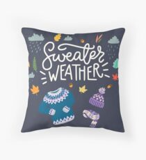 Sweater Weather Floor Pillow