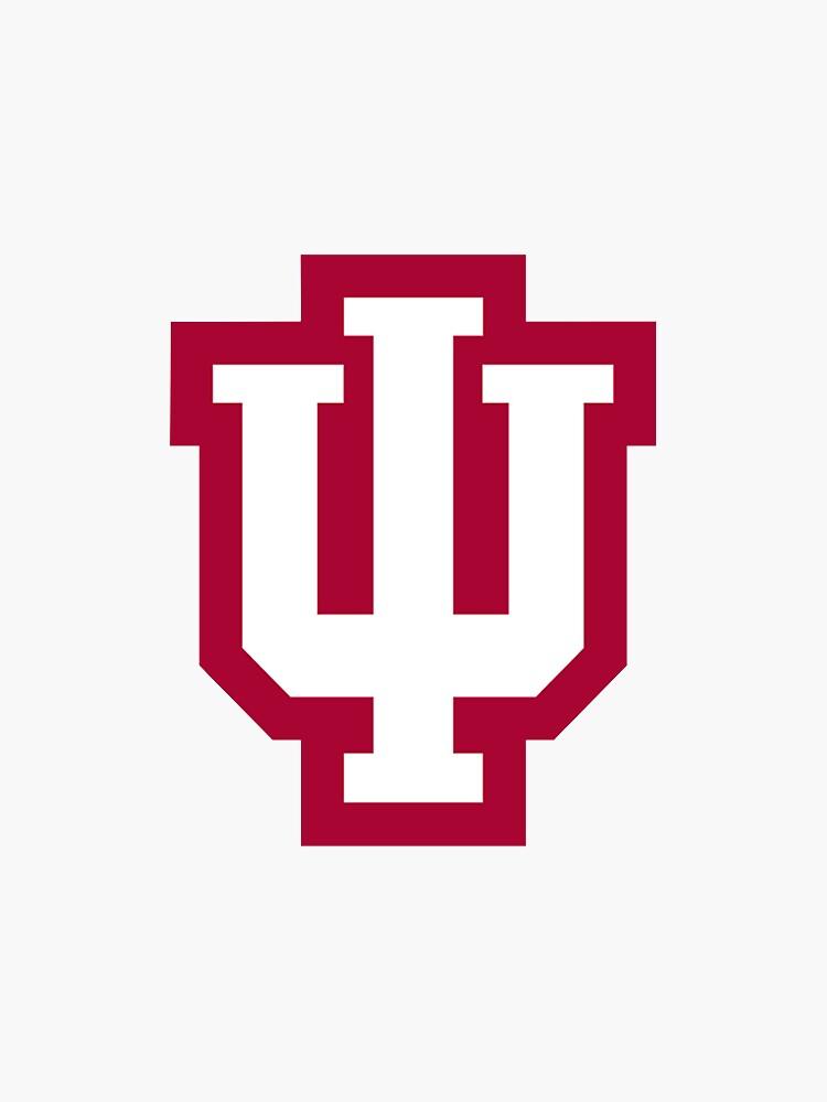 Pegatina de la Universidad de Indiana de joellekaplan