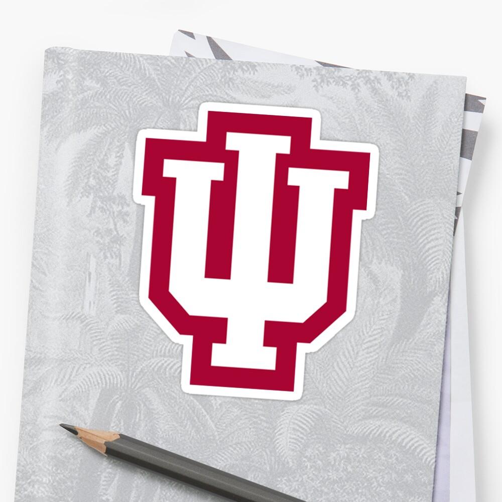 Pegatina de la Universidad de Indiana Pegatina