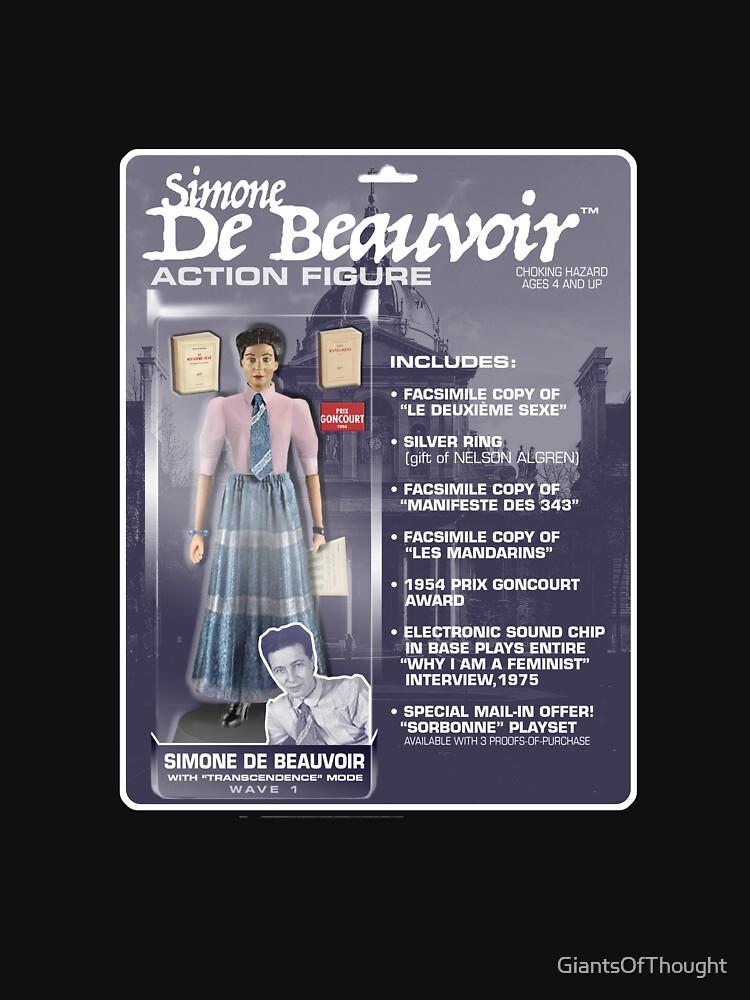 Simone De Beauvoir Action Figure by GiantsOfThought