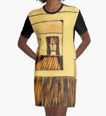 THE OTHER SIDE OF THE ROOM Graphic T-Shirt Dress