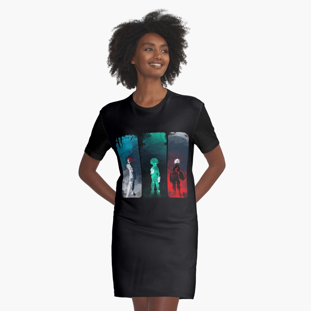 What's your power? Graphic T-Shirt Dress