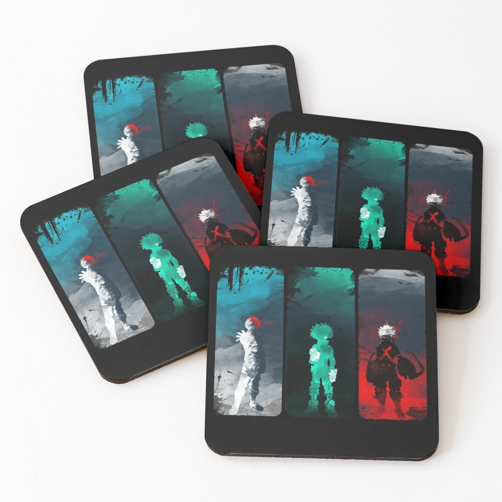 What's your power? Coasters (Set of 4)