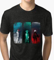 Camiseta de tejido mixto ¿Cuál es tu poder?
