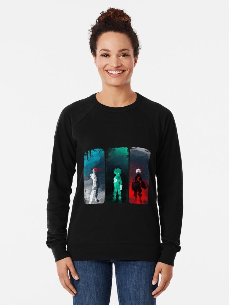 Alternate view of What's your power? Lightweight Sweatshirt