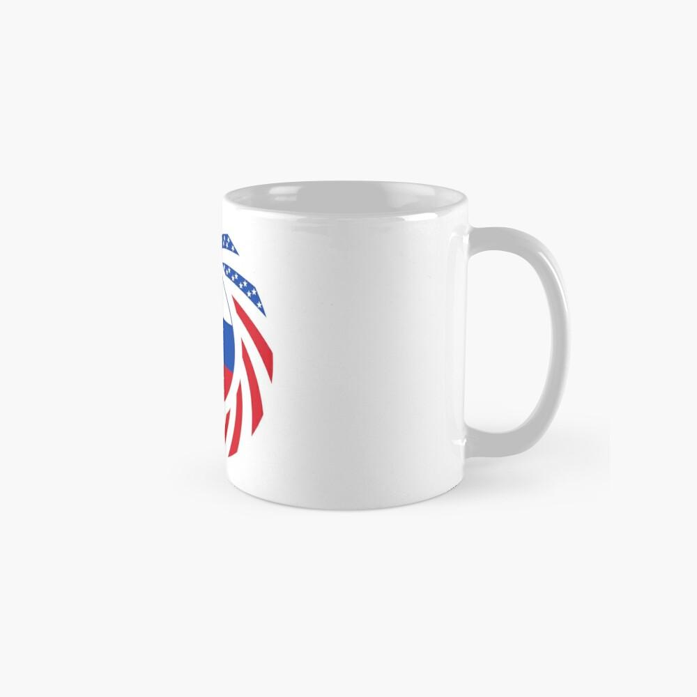 Russian American Multinational Patriot Flag Series Mug