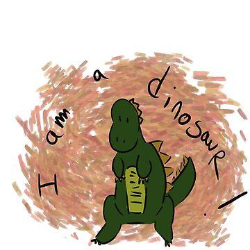 I'm a dinosaur! by Autumn-Winter