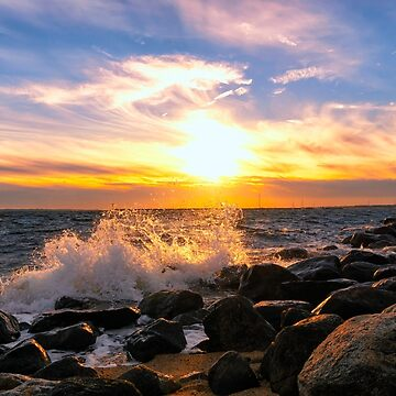 October Sunset by JoeGeraci