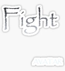 AVATAR - FIGHT Sticker