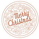 Merry Christmas Florals by southerlydesign