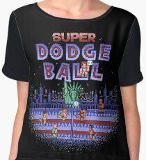 Super Ball Dodge Chiffon Top