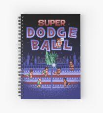 Super Ball Dodge Spiral Notebook