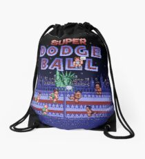 Super Ball Dodge Drawstring Bag