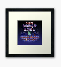Super Ball Dodge Framed Print