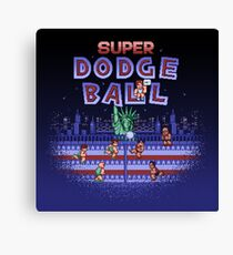 Super Ball Dodge Canvas Print