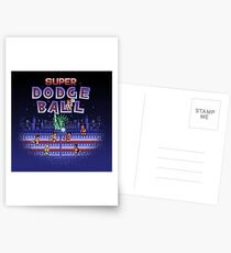 Super Ball Dodge Postcards