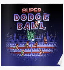 Super Ball Dodge Poster