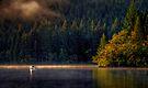 Loch Ard fishermen by David Mould