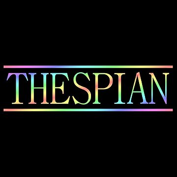 Colorful thespian by barminam