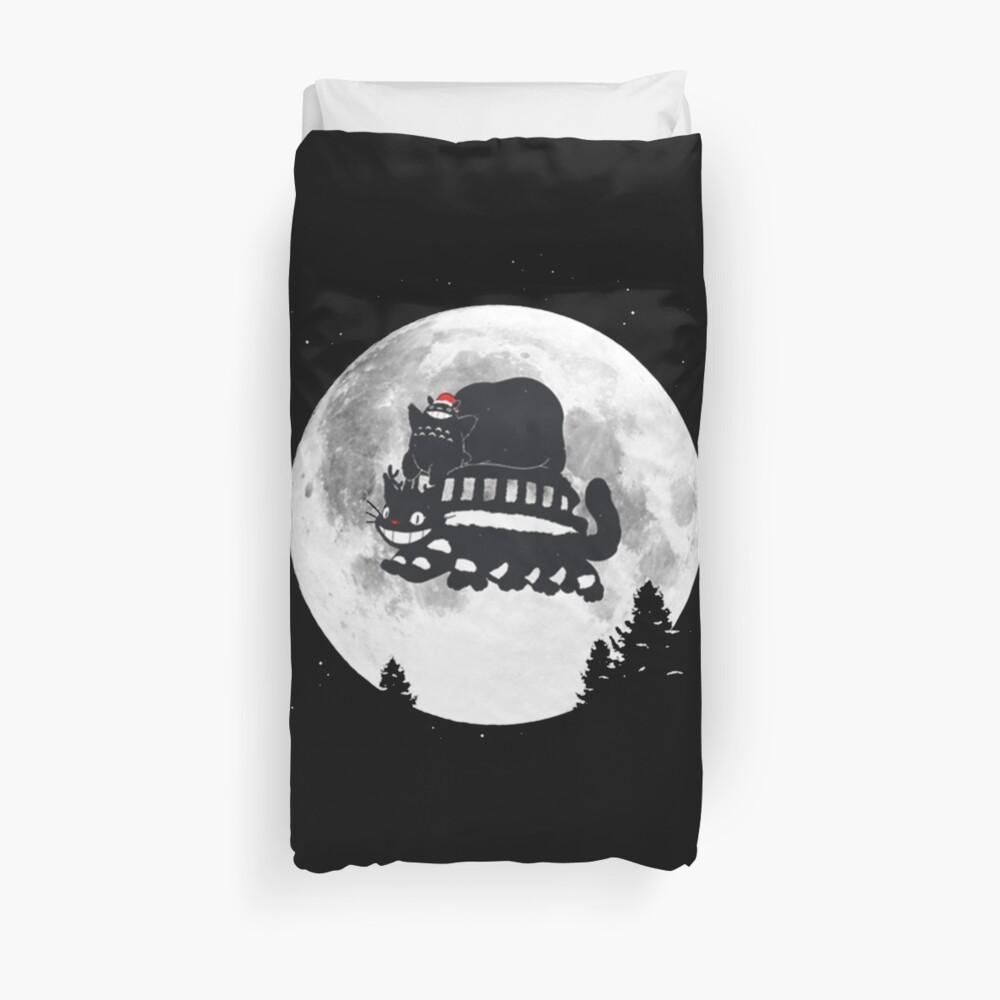 Moonlight Christmas Duvet Cover